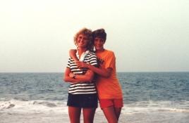 Beach sibs 1983