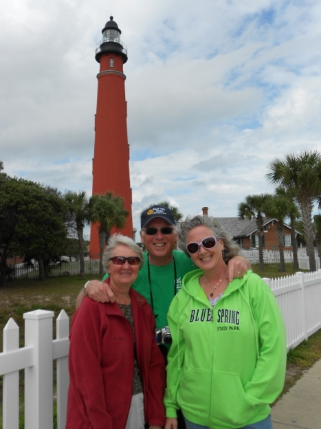 Us at Ponce de Leon Inlet lighthouse