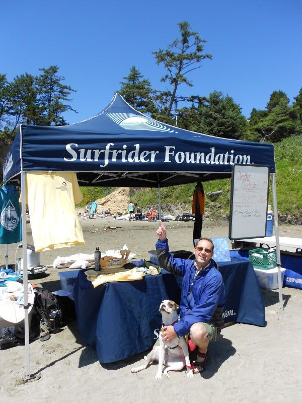 Surfrider Foundation tent