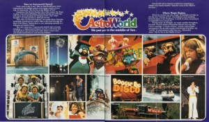 Color Astroworld brochure from the 1970s