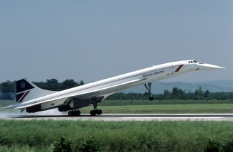 British Airways Concorde SST